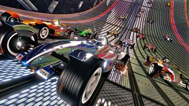 Os belos carros de trackmania (Foto: Divulgação)