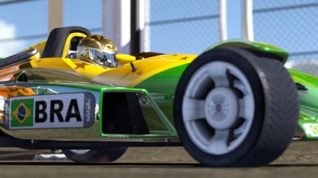 Trackmania 2 tem até pilotos brasileiros (Foto: Divulgação)