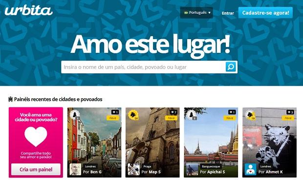 Urbita é uma página dedicada a amantes de cidades (Foto: Reprodução) (Foto: Urbita é uma página dedicada a amantes de cidades (Foto: Reprodução))