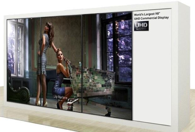 Samsung deve apresentar TV gigante 4K com 98 polegadas na IFA 2013 (Foto: Reprodução/Engadget)
