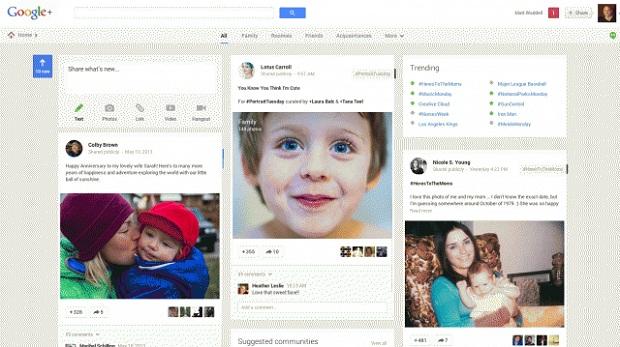 google+, boa rede para se relacionar com seus familiares (Foto: Reprodução/Marshable)