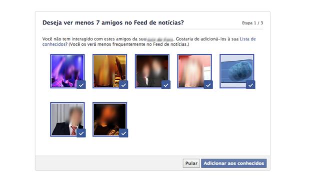 Seu feed do Facebook está lotado? Envie contatos para lista de conhecidos (Foto: Reprodução/Marvin Costa)