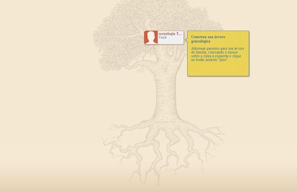 rootsy, lugar perfeito para você montar a árvore genealógica da sua família (Foto: Reprodução)