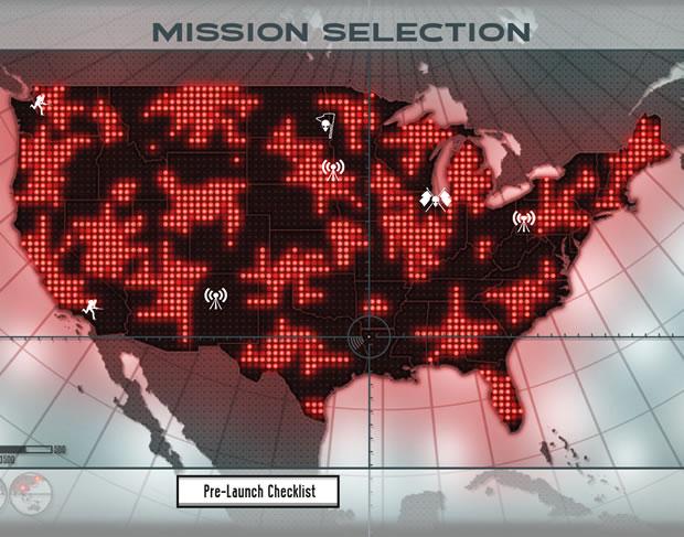 Para coordenar as suas missões e enviar esquadrões em forças tarefas paralelas, o jogador deve manipular um aparelho no centro da sala de operações (Foto: Reprodução/Daniel Ribeiro)