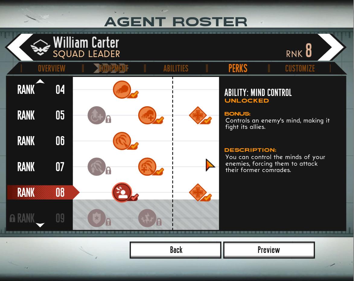 """Willian Carter é o único agente com a classe """"Líder de esquadrão"""" (Foto: Reprodução/Daniel Ribeiro)"""