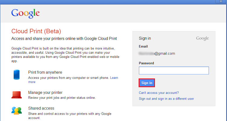 Informe seu usuário e senha e faça o login em sua conta do Google  (Foto: Reprodução/Thiago Bittencourt)