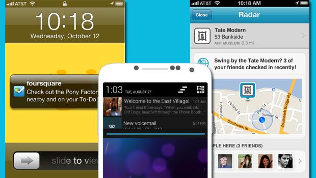Novidade do Foursquare ainda está sendo liberada aos poucos (Foto: Arte / TechTudo)