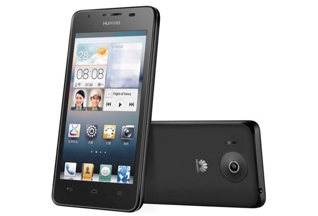 Ascend G510 é o primeiro smartphone da Huawei no Brasil, equipado com processador dual-core (Foto: Divulgação)