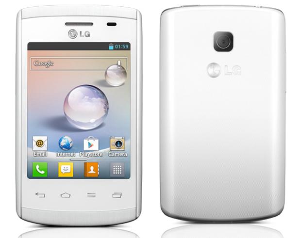 LG Optimus L1 2 é um modelo de entrada com suporte a três chips de operadoras (Foto: Divulgação)