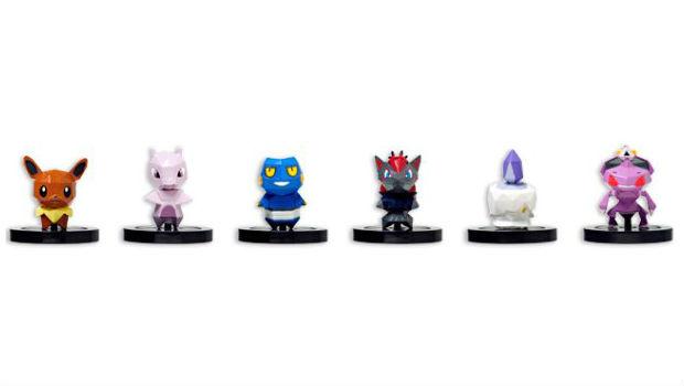 Algumas das miniaturas que podem ser usadas em Pokémon Rumble U (Foto: Divulgação)