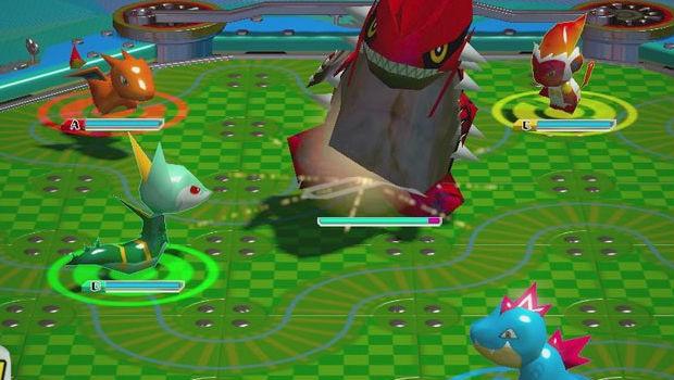 Adversários gigantes também estão no cardápio de Pokémon Rumble U (Foto: Divulgação)