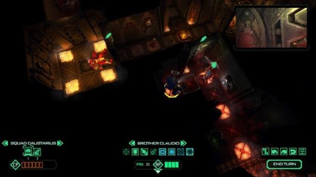 Ambiente predominantemente escuro torna difícil a visualização de detalhes do jogo (Foto: Divulgação)
