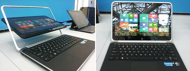 Tela giratória e corpo pequeno são os diferenciais do Dell XPS 12 (Foto: Reprodução/Paulo Alves)