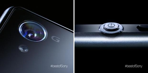 Câmera e botão do Xperia Z1 foram revelados em vídeo oficial (Foto: Reprodução)