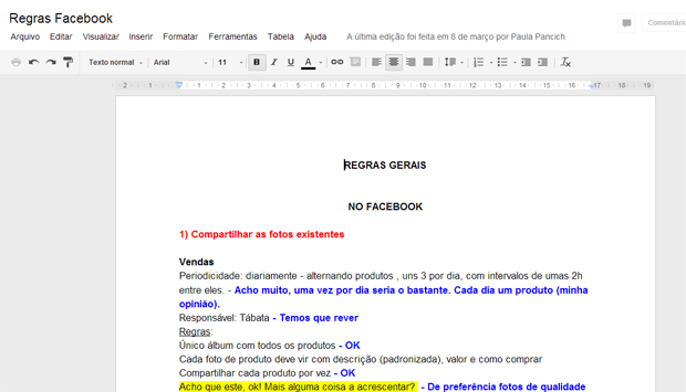 Acessando o documento no qual deseja inserir novas fontes (Foto: Reprodução/Teresa Furtado)