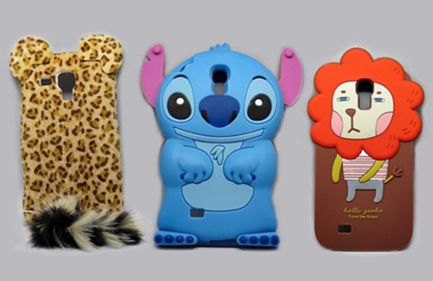 Capas de personagens Stitch, Romane Leão e pelúcia (Foto: Divulgação/Mundo das Capas)