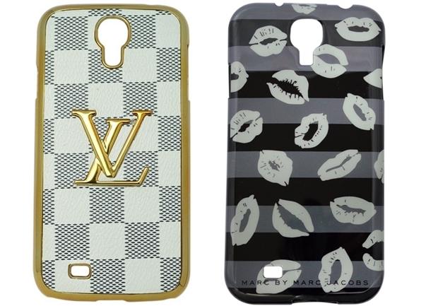 Capas para Galaxy S4 Louis Vuitton e Marc Jacobs (Foto: Divulgação/Coronitas Acessórios)