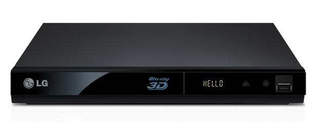 Blu-ray Player LG 3D (Foto: Reprodução)