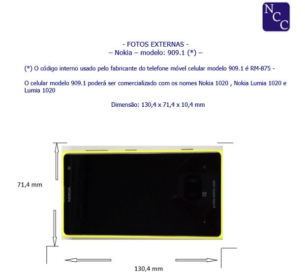 Novo Lumia já foi homologado pela Anatel (Foto: Reprodução/Thiago Barros)