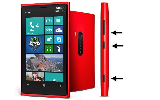 Resetando smartphone (Foto: Reprodução/Nokia)
