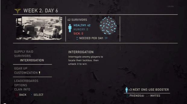 Selecione o modo Interrogation no multiplayer de The Last of Us (Foto: Reprodução / TechTudo)