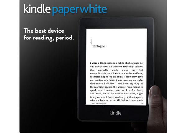 kindle paperwhite (Foto: Divulgação)