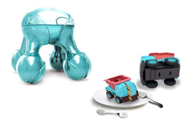 Atomium, impressora de comida 3D (Foto: Reprodução/ yankodesign)