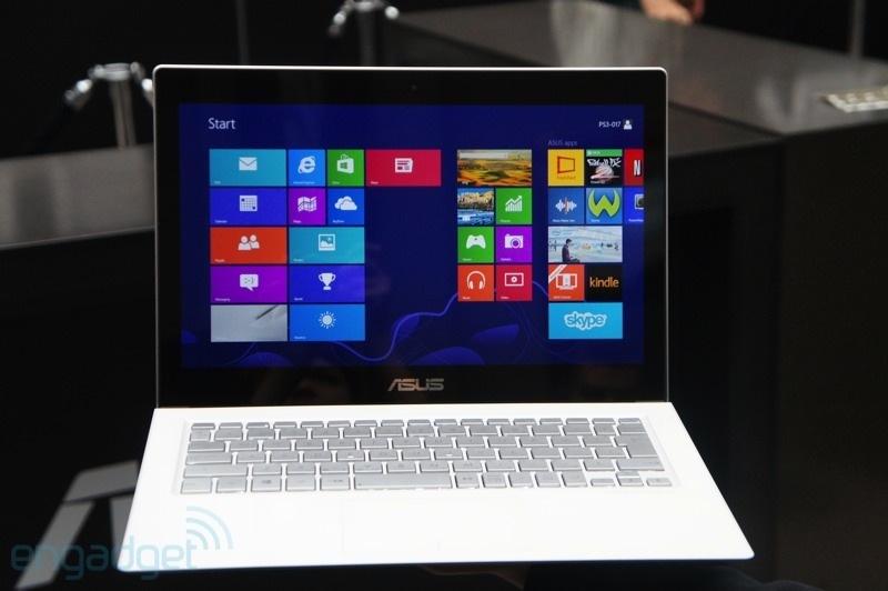 Asus revelou seu novo ultrabook Zenbook UX301 com Gorilla Glass 3 (Foto: Reprodução/Engadget)