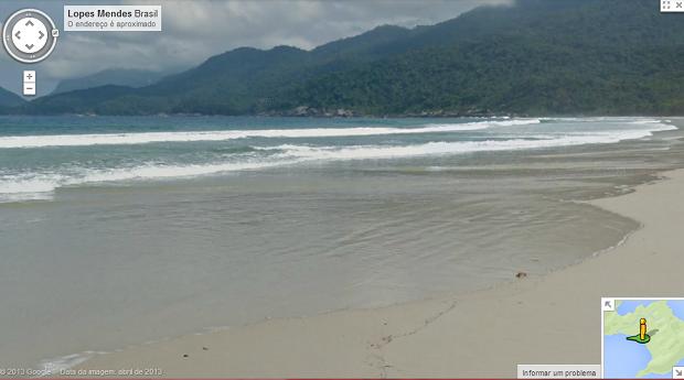 Lopes Mendes é uma das praias de Ilha Grande capturadas (Foto: Divulgação)
