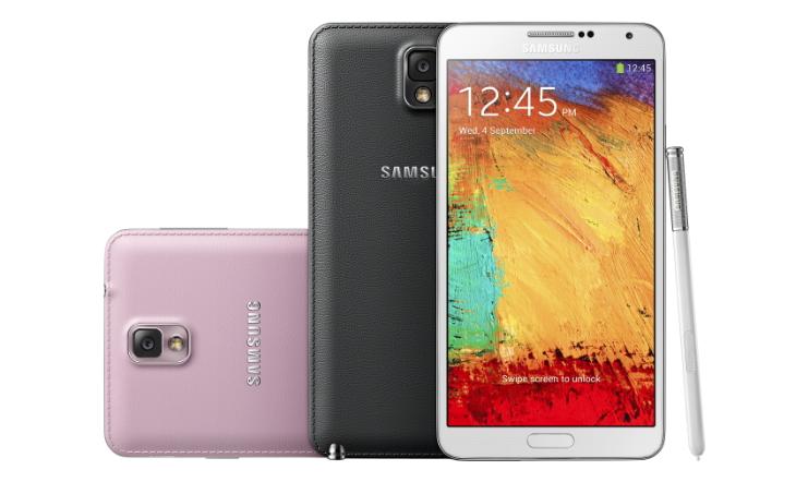 Galaxy Note 3, ainda mais fino e menos largo que seu antecessor  (Foto: Divulgação)