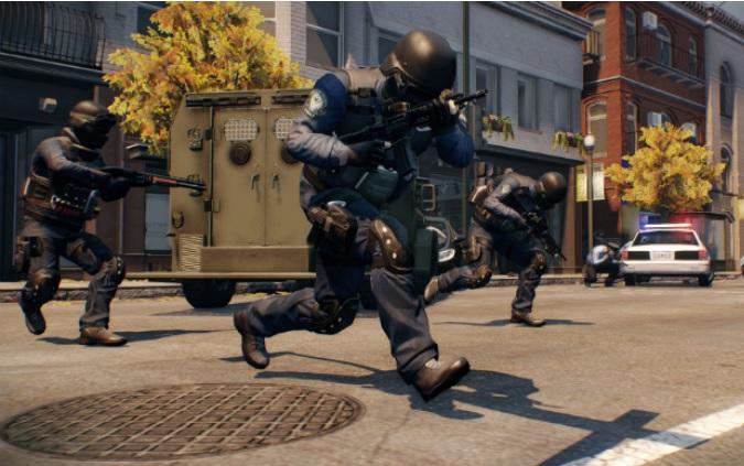 Policiais agem com rapidez em Payday 2 (Foto: Divulgação)