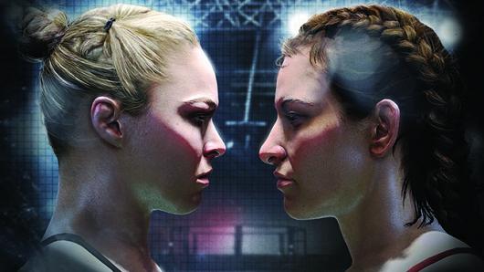 Ronda Rousey and Miesha Tate (Foto: Divulgação)