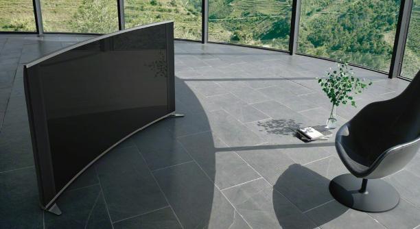 Modelo não é 4K, mas traz resolução Full HD e tela curvada (Foto: Divulgação)