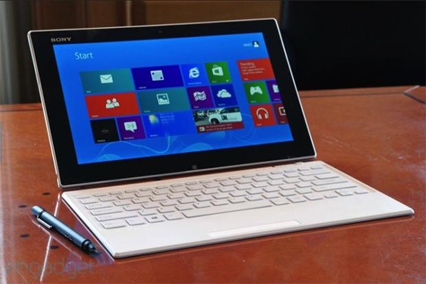 Vaio Tap 11 é a aposta da Sony para o mercado de tablets híbridos (Foto: Reprodução/Engadget)