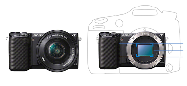 Câmera lançada pela Sony é portátil com performance de DSLR (Foto: Montagem/Sony) (Foto: Câmera lançada pela Sony é portátil com performance de DSLR (Foto: Montagem/Sony))
