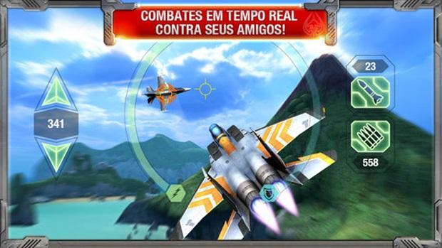 MetalStorm: Aces é um game de aviões e caças gratuito (Foto: Divulgação)