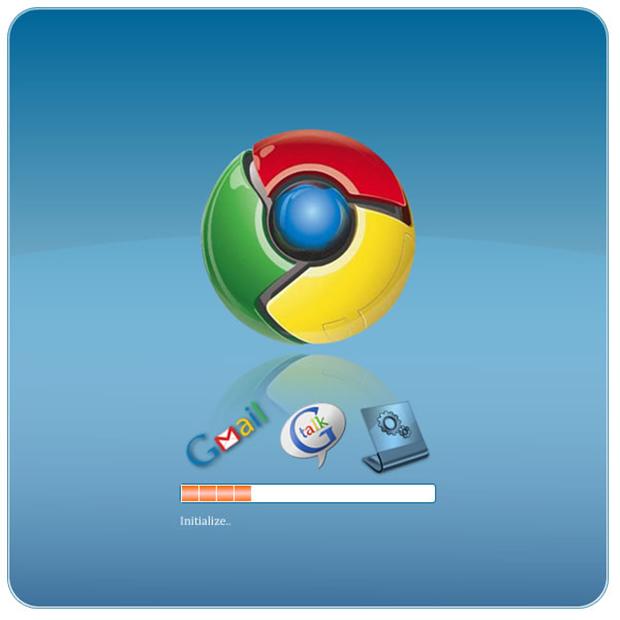 Iniciando o Chrome OS (Foto: Reprodução/João Paulo Carrara)