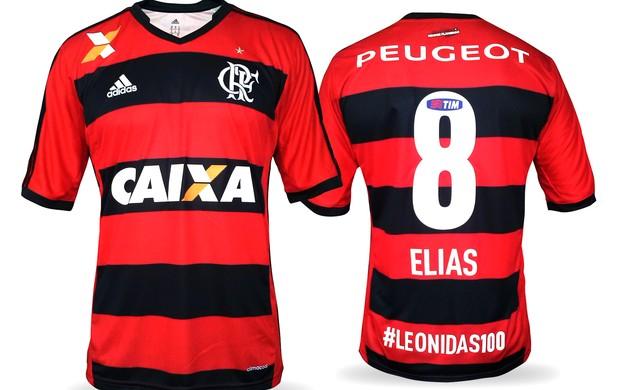 Camisa do Flamengo em homenagem a Leonidas da Silva (Foto: Divulgação)