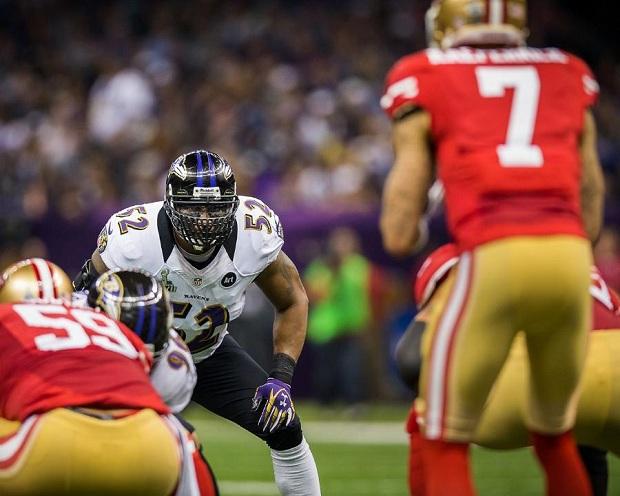 Defesas precisam se concentrar para evitar descidas (Foto: Divulgação/Baltimore Ravens)