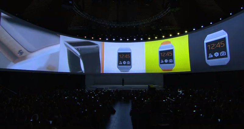 Galaxy Gear terá diversos aplicativos já no seu lançamento (Foto: Divulgação)