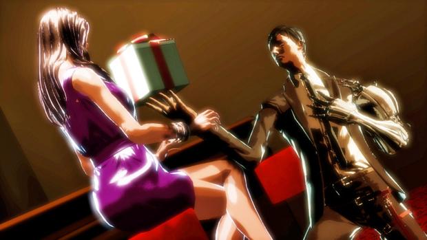 Presentes são o caminho para o coração das mulheres nas Gigolo Missions (Foto: playscope.com)