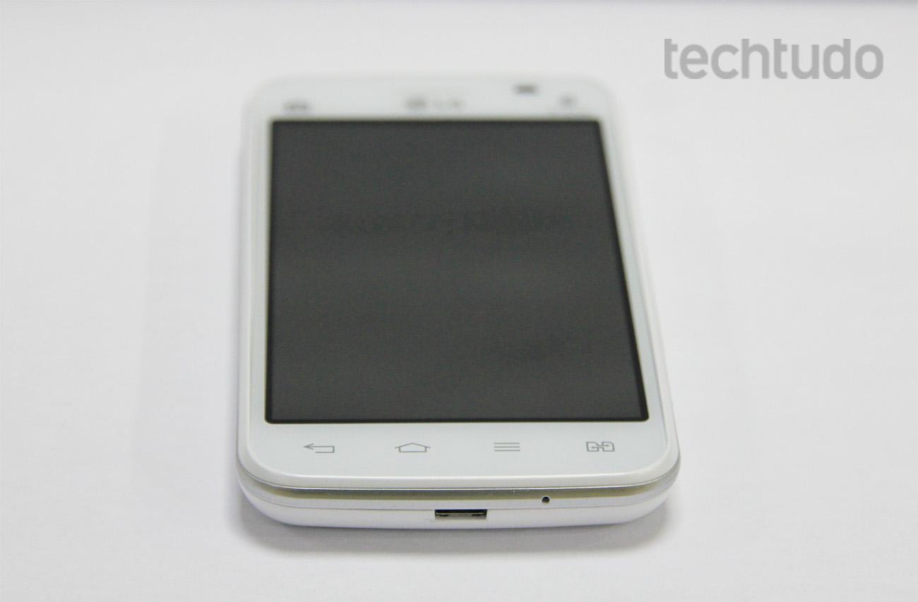 Botões touch de navegação do Android (Foto: Isadora Díaz/TechTudo)
