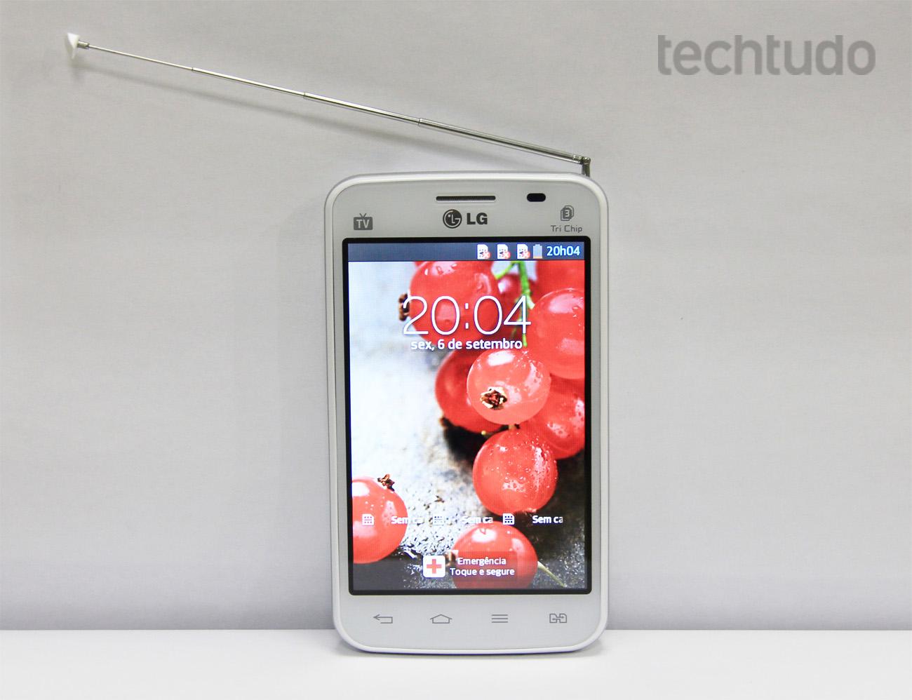 LG Optimus L4 2 (Foto: Isadora Díaz/TechTudo)