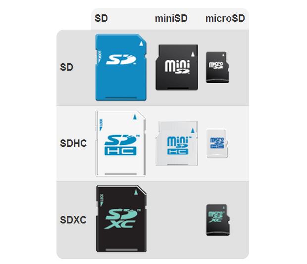 Os cartões SD variam conforme sua portabilidade e velocidade de gravação (Foto: Reprodução/SD Association)