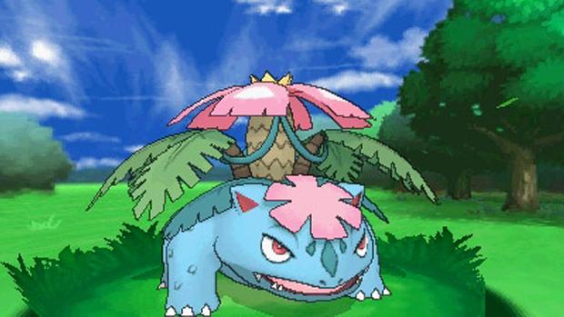 Mega Venusaur é uma das novidades com toque de nostalgia em Pokémon X & Y (Foto: nintendo3dsdaily.com)