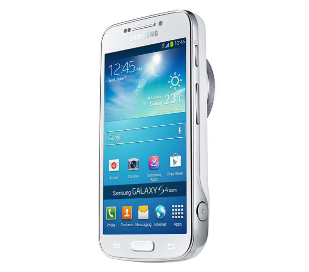 Galaxy S4 Zoom é híbrido câmera-smartphone com sensor de 16 MP (Foto: Divulgação)