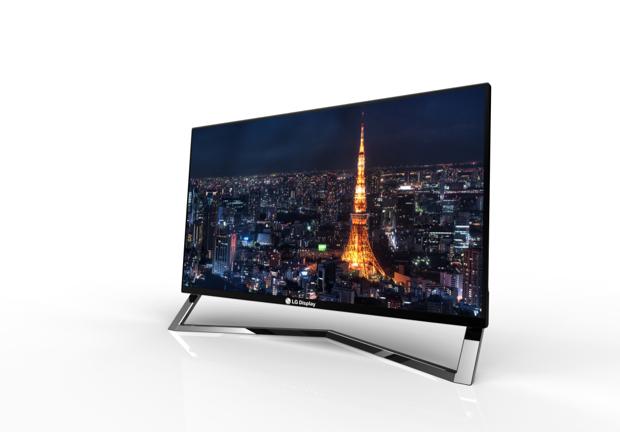 Novo monitor LCD da LG tem tecnologia WiDi integrada (Foto: Divulgação)