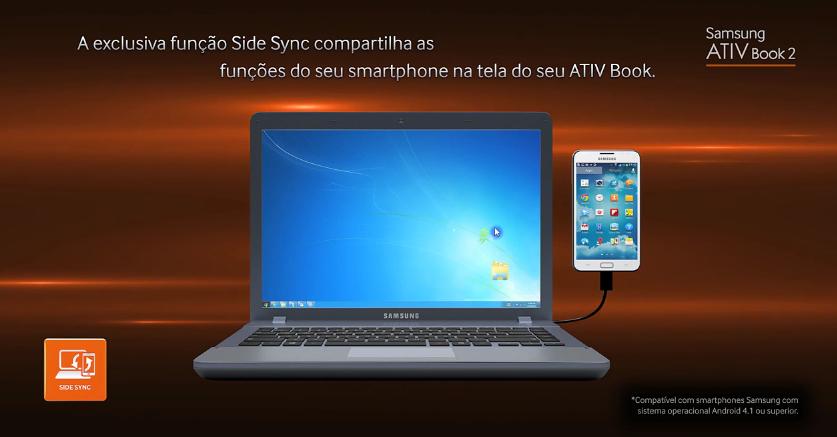 SideSync incorpora tela do smartphone no dia a dia de trabalho (Foto: Divulgação)
