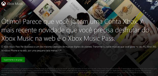 Você terá que se registrar no Premium (Foto: Reprodução/Thiago Barros)