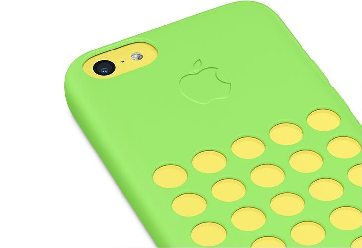 Capas coloridas do iPhone 5S, vendidas somente nos EUA (Foto: Divulgação)